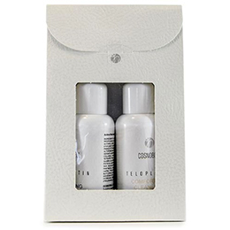 Teloplatin Cleansing Travel Kit - Tonic + Lotion